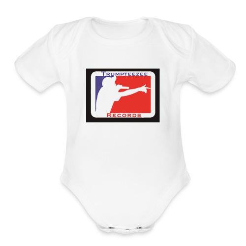 ttrlogq1 - Organic Short Sleeve Baby Bodysuit