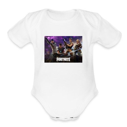 Fortnite 604x423 - Organic Short Sleeve Baby Bodysuit