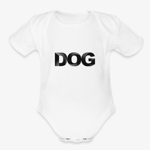 DOG - Organic Short Sleeve Baby Bodysuit