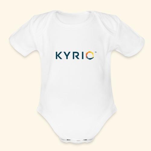 Kyrio cmyk main - Organic Short Sleeve Baby Bodysuit