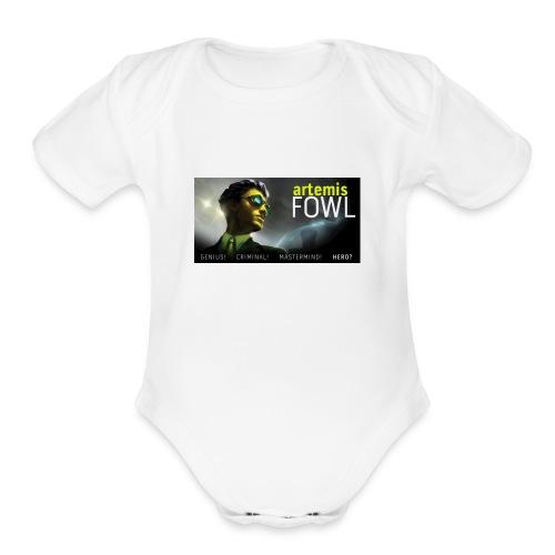 Artemis Fowl Fans - Organic Short Sleeve Baby Bodysuit