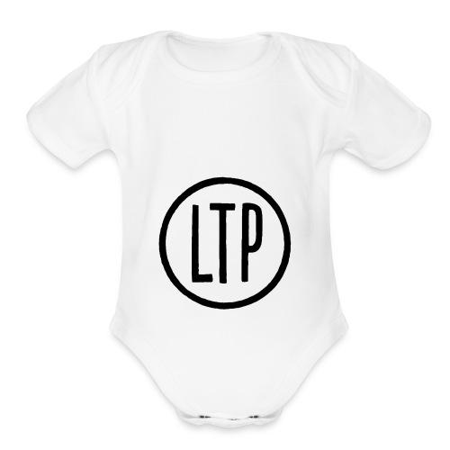 LTP White T-Shirt - Organic Short Sleeve Baby Bodysuit