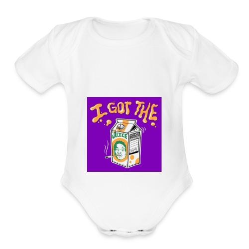 Juicy - Organic Short Sleeve Baby Bodysuit