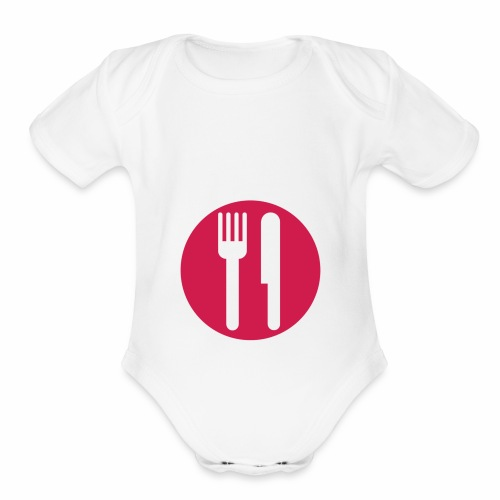 IM HUNGRY - Organic Short Sleeve Baby Bodysuit