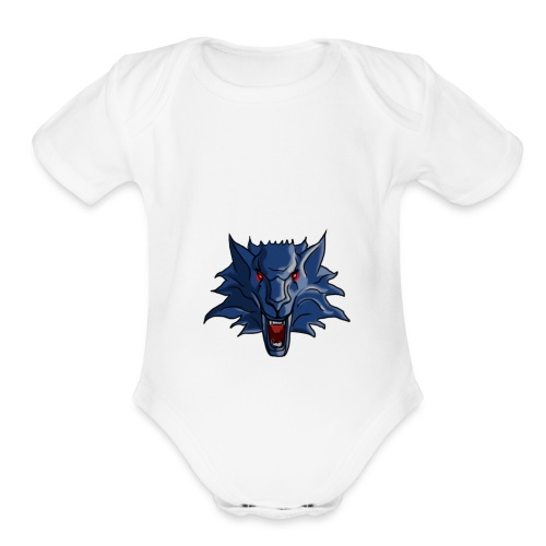 Limited edition wolf - Organic Short Sleeve Baby Bodysuit