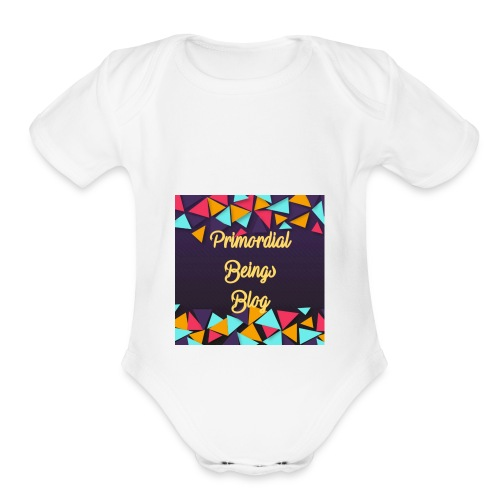 Primordial Beings Blog - Organic Short Sleeve Baby Bodysuit