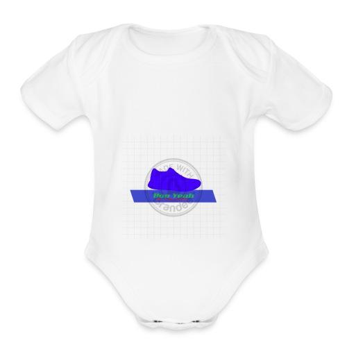Boo Yeah 1520472754828 - Organic Short Sleeve Baby Bodysuit