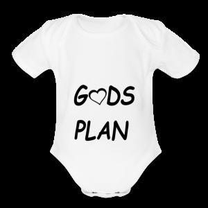 Gods Plan - Short Sleeve Baby Bodysuit