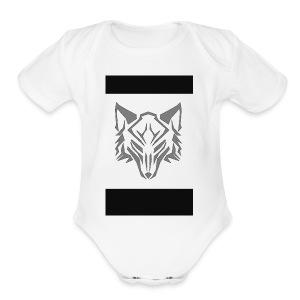 Wolf t-shirts - Short Sleeve Baby Bodysuit