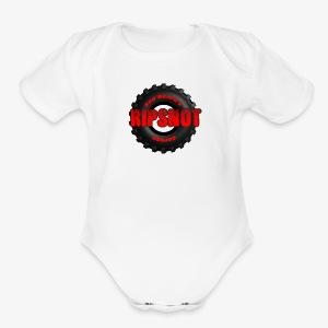 RBG Ripsnot Tire - Short Sleeve Baby Bodysuit