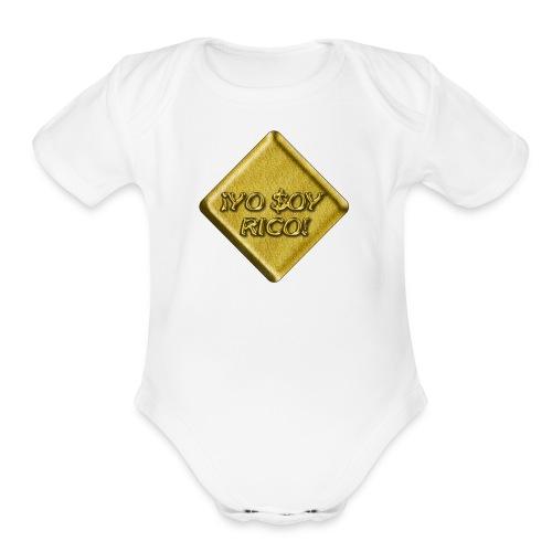 uyLtm6Z8 - Organic Short Sleeve Baby Bodysuit