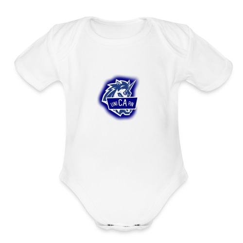 Fans Merch - Organic Short Sleeve Baby Bodysuit