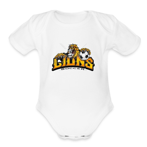 We are The Lions - Organic Short Sleeve Baby Bodysuit