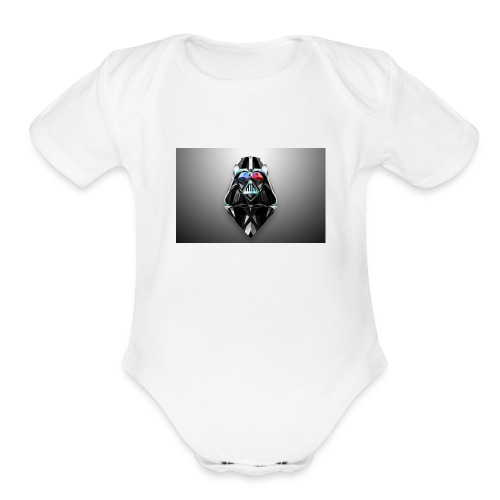 may the force be with you - Organic Short Sleeve Baby Bodysuit