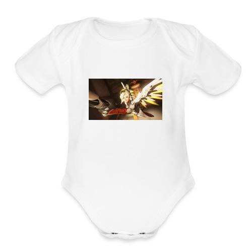 Mercy - Organic Short Sleeve Baby Bodysuit