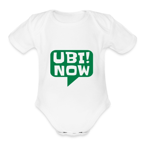 The movement - UBI NOW - Organic Short Sleeve Baby Bodysuit