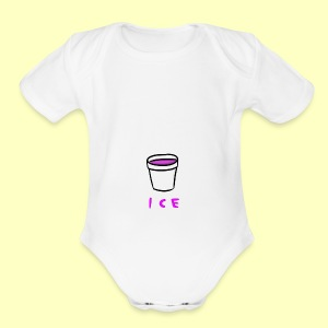 ICE - Short Sleeve Baby Bodysuit