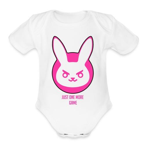 Addicted - Organic Short Sleeve Baby Bodysuit