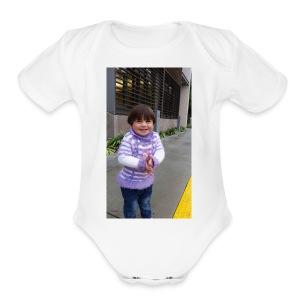 zeze - Short Sleeve Baby Bodysuit