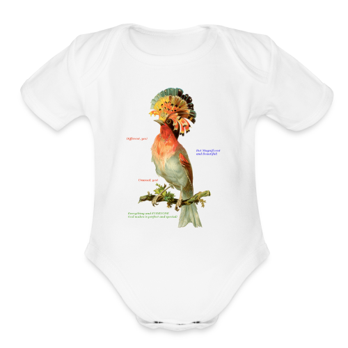 Beautiful People - Organic Short Sleeve Baby Bodysuit