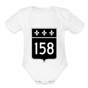route 158 - Short Sleeve Baby Bodysuit