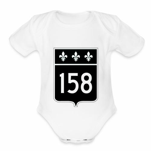 route 158 - Organic Short Sleeve Baby Bodysuit
