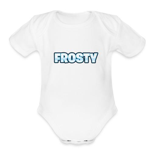 FrostyClothing - Organic Short Sleeve Baby Bodysuit