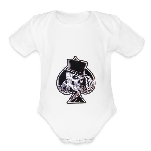 s l1000 - Organic Short Sleeve Baby Bodysuit