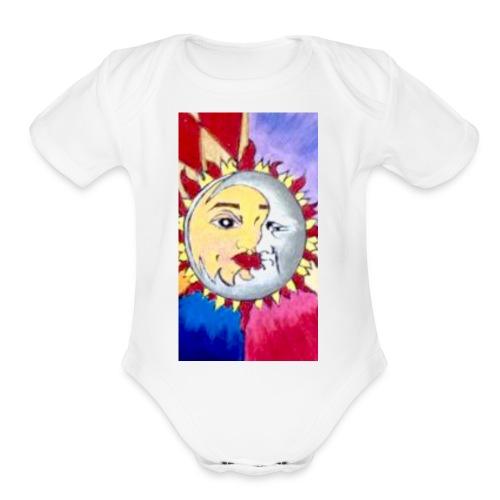 IMG 8376 - Organic Short Sleeve Baby Bodysuit