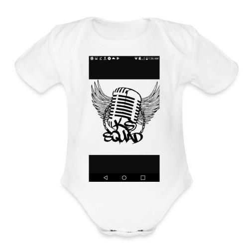 K&S Squad - Organic Short Sleeve Baby Bodysuit