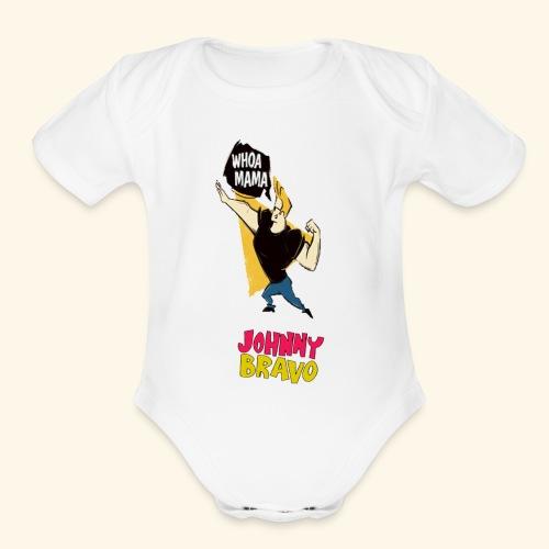 jhonny bravo my 1 - Organic Short Sleeve Baby Bodysuit