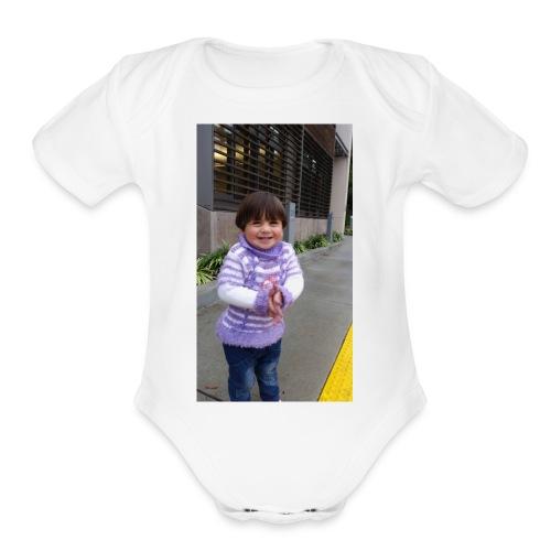zeze - Organic Short Sleeve Baby Bodysuit