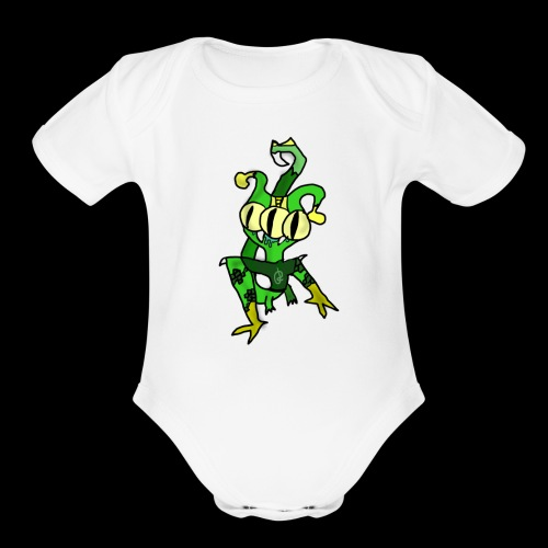 Three-Eyed Alien - Organic Short Sleeve Baby Bodysuit
