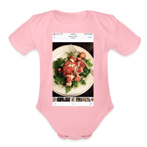 King Ray - Organic Short Sleeve Baby Bodysuit