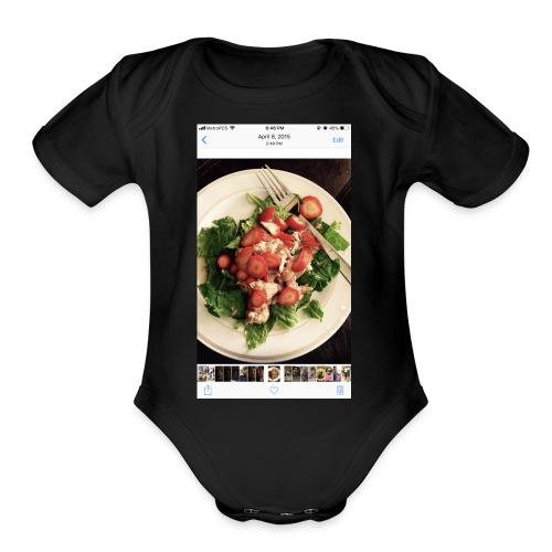 King Ray - Organic Short Sleeve Baby Bodysuit