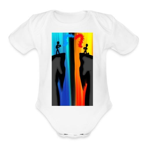 Opposite - Organic Short Sleeve Baby Bodysuit