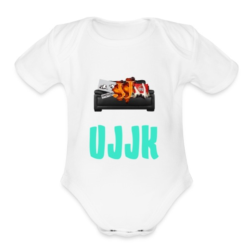 UJJK Merch - Organic Short Sleeve Baby Bodysuit