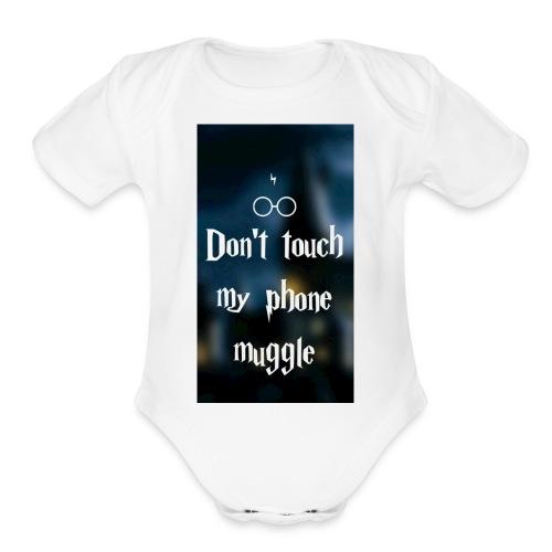 HarryPotter shirt - Organic Short Sleeve Baby Bodysuit