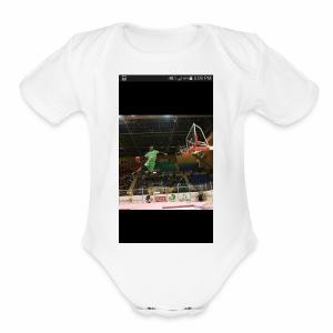 Whit white - Short Sleeve Baby Bodysuit