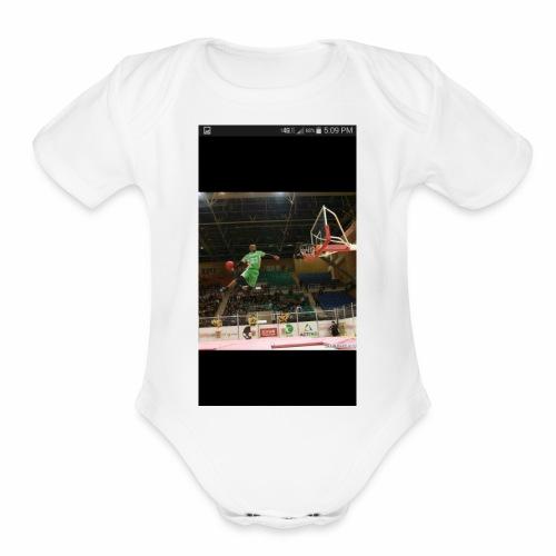 Whit white - Organic Short Sleeve Baby Bodysuit