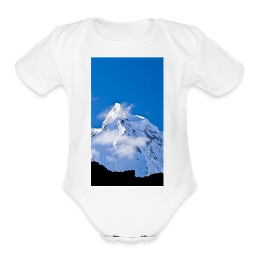 Goutam patel - Organic Short Sleeve Baby Bodysuit