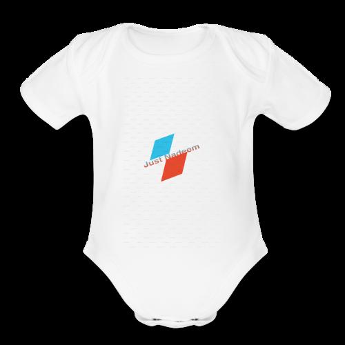 Beta - Organic Short Sleeve Baby Bodysuit