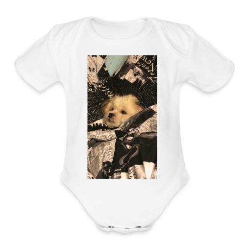 Rocky R - Organic Short Sleeve Baby Bodysuit