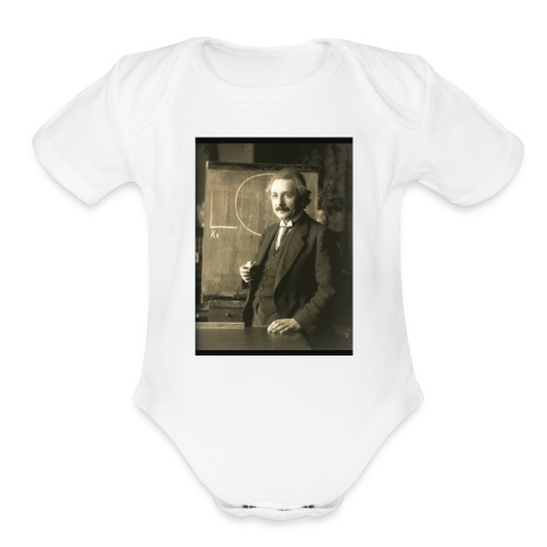 Professor Einstein - Organic Short Sleeve Baby Bodysuit