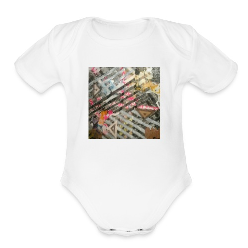 Cool shirt - Organic Short Sleeve Baby Bodysuit