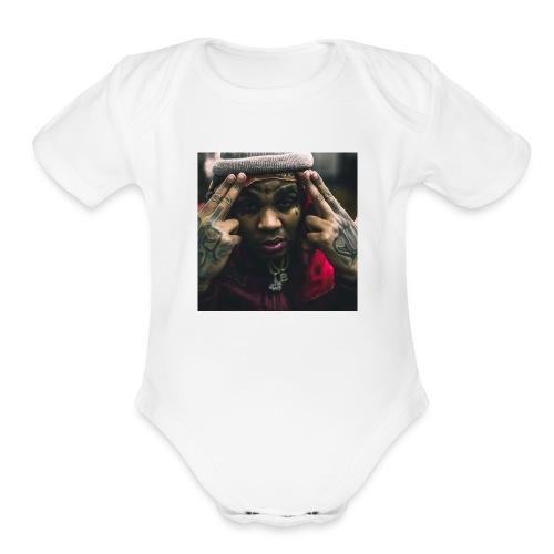 Kevin Gates - Organic Short Sleeve Baby Bodysuit