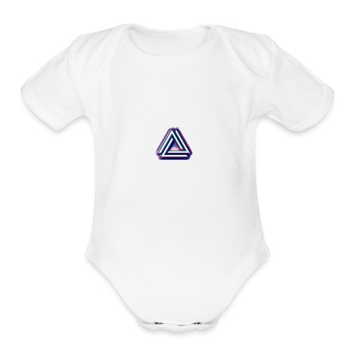 The Rainbow - Organic Short Sleeve Baby Bodysuit