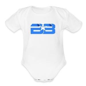 B Brandon Merch Store - Short Sleeve Baby Bodysuit