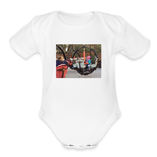 Nicole At Hershey Merch - Organic Short Sleeve Baby Bodysuit