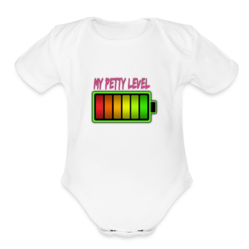 Petty attire - Organic Short Sleeve Baby Bodysuit
